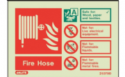 6375ID/R - FIRE HOSE EXTINGUISHER IDENTIFICATION SIGN 100 x 150mm